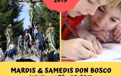 Mardis et Samedis Don Bosco (5-10 ans)