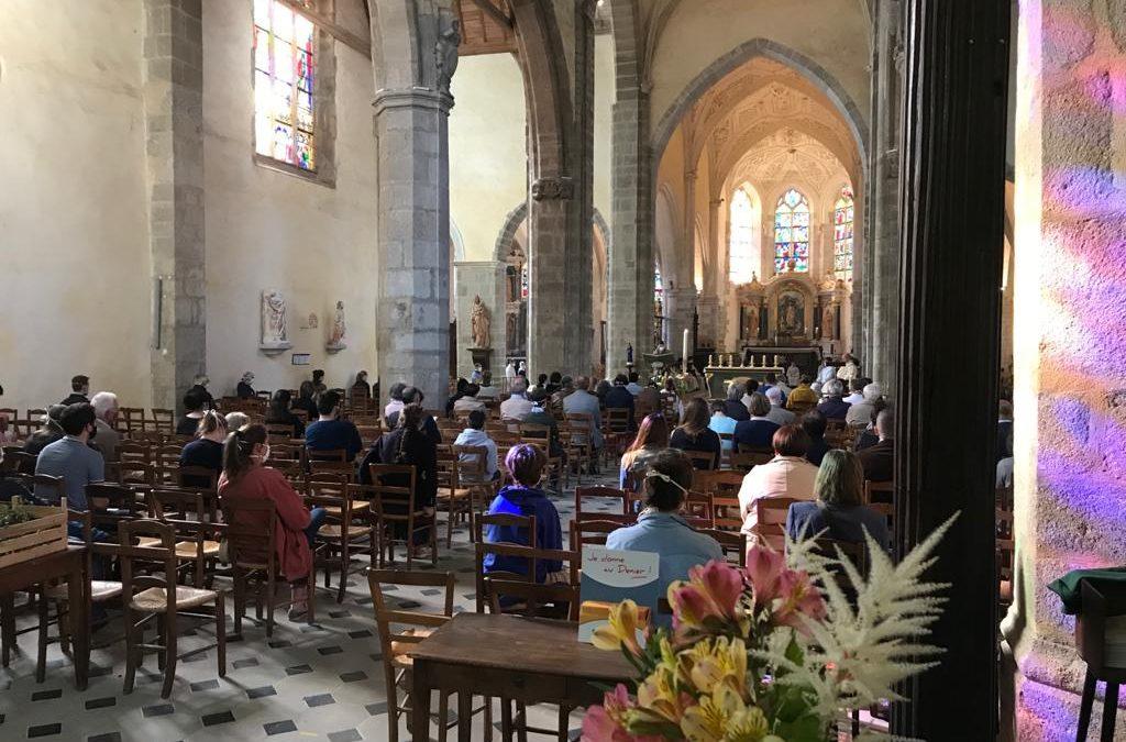 Participer à l'accueil et au nettoyage des églises pendant le déconfinement