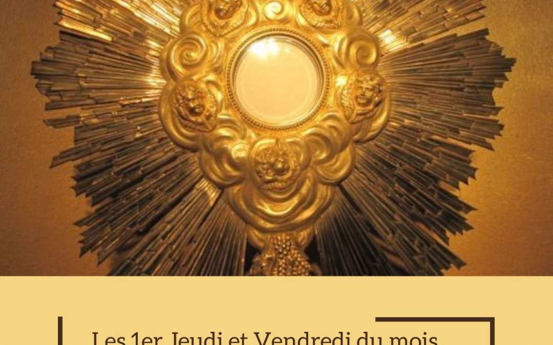 24h d'adoration pour les vocations